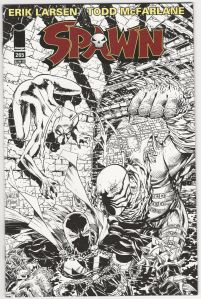 Spawn-265-Rare-Black-White-Sketch-Variant