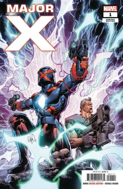 major X #1 variant cover