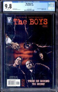 The Boys #1 cgc 9.8