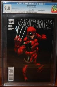 Wolverine #1 Campebll
