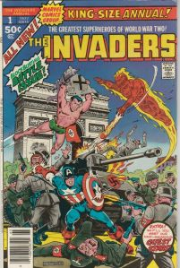 The Invaders King Size Annual #1