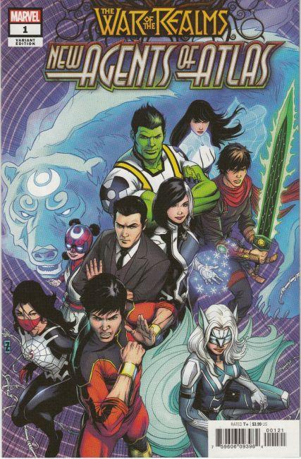 War of the Realms New Agents of Atlas #1 Zircher