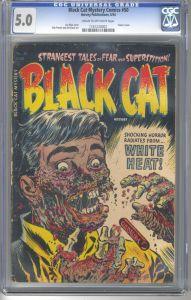 Black Cat Mystery Comics #50