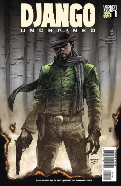 Django Unchained #1 JIM LEE