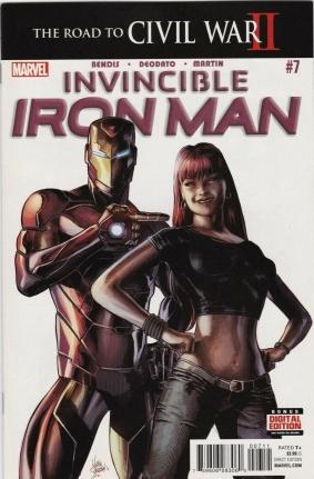 Invincible Iron Man #7