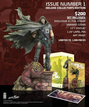 Oblivion Song Statue