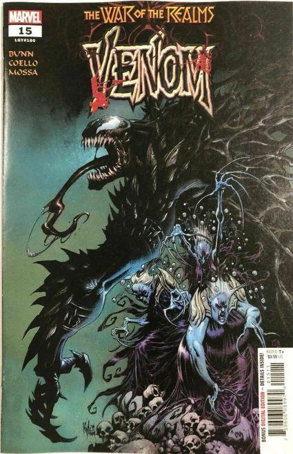 Venom #15 Bloody Variant