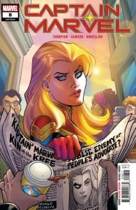 Captain Marvel #8 1