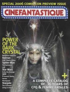Cinefantastique volume 38 #4