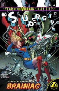 Supergirl #33 recalled