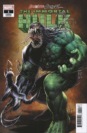 Absolute Carnage Immortal Hulk #1 Variant