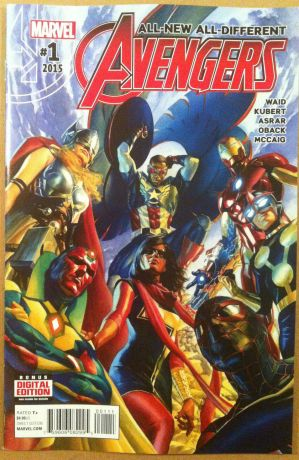 Avengers #1 2015 all new all different
